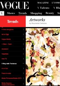 Noumeda Carbone feature on Vogue Trends