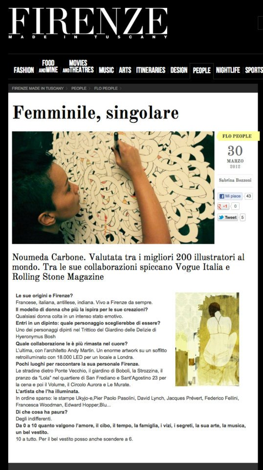 Firenze Made in Tuscany n°22 interview