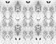 Umberto Giannini Skull patterndeta