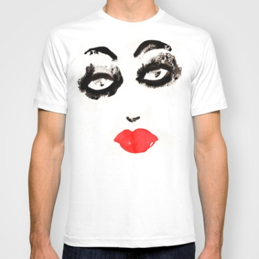 T-SHIRT by Noumeda Carbone http://society6.com/noumeda/Portrait-TRp_T-shirt#11=49&4=16
