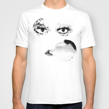 T-Shirt by Noumeda Carbone http://society6.com/noumeda/Portrait-sVp_T-shirt#11=49&4=16