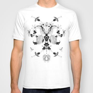 T-Shirt by Noumeda Carbone http://society6.com/noumeda/flowers-hey_T-shirt#11=49&4=16