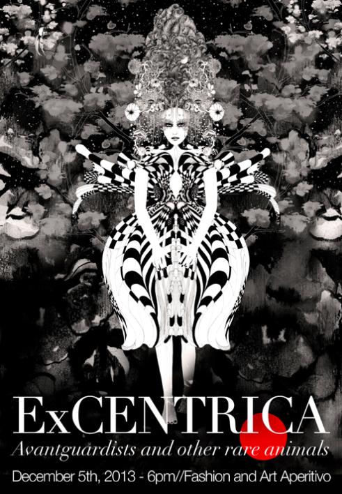 ART EXHIBIT : Noumeda Carbone a Paris born Italian artist and award-winner illustrator.