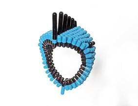 #bracelet- #Wearable #art pills Contemporary #Jewellery - by #Noumeda Carbone