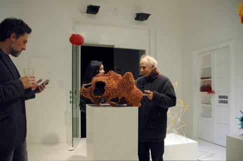"Bitter Pills"" MOO Art Gallery Pill sculptures by Noumeda Carbone 08.03 - 24.04 2014. Photo: MOO"