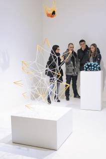 """Bitter Pills"" MOO Art Gallery Pill sculptures by Noumeda Carbone 08.03 - 24.04 2014."