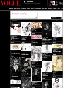 vogue trends blog and Noumeda