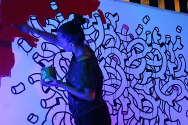 #Noumeda #live #artistatwork #painting #wall #art #Florence