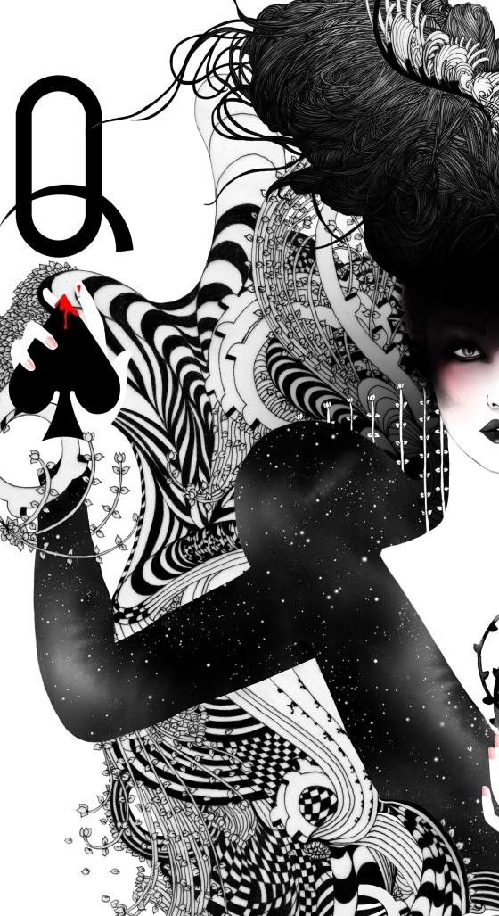 The Queen of Spades - by Noumeda Carbone