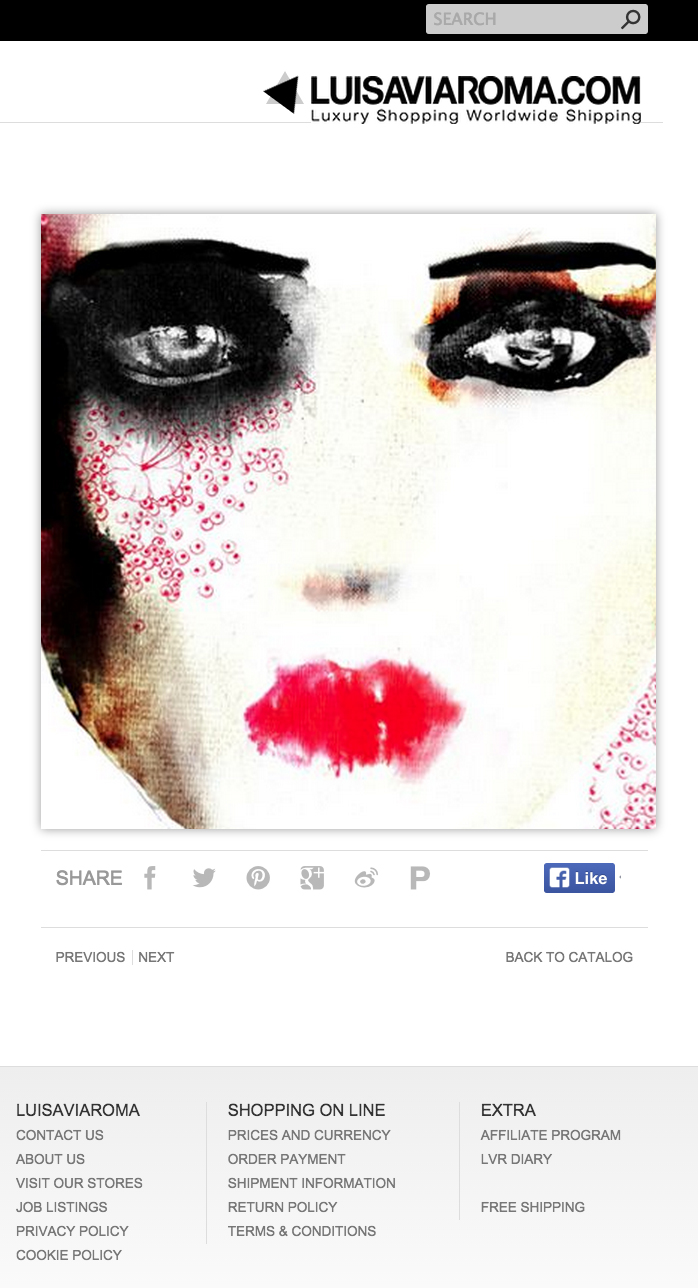 #LuisaViaRoma #refined #illustration #drawing #noumeda #art #print #limited #edition #shop #home #decor #Puccini