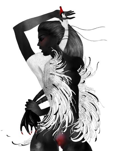 #artprint #fashion #poster #homedecor #interiors #best illustrator #noumeda #darwingartist #poster #graphicart #