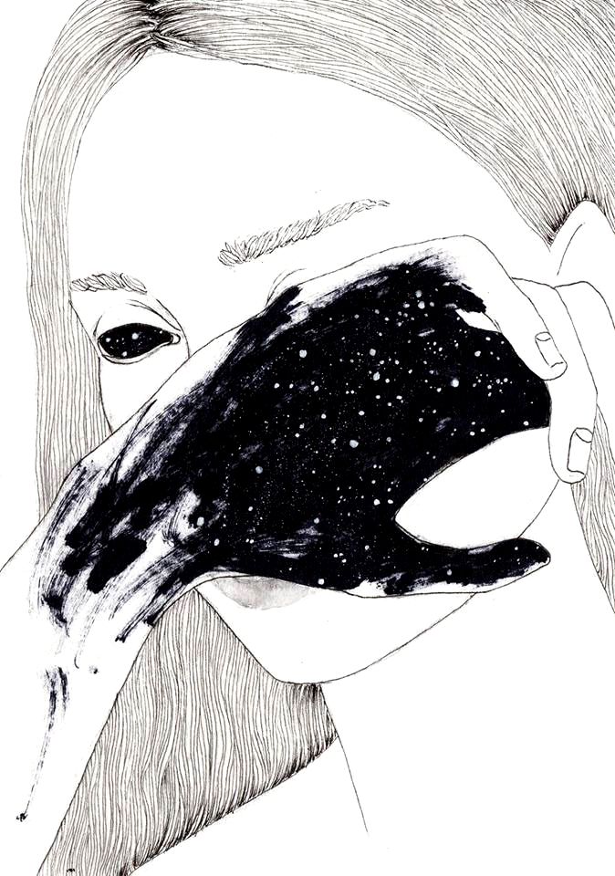 'Jasmina'. Drawing by Noumeda Carbone