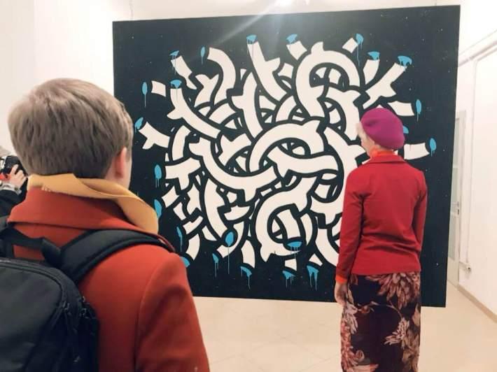 #linepainting #installation #art #contemporaryart #italianartist #acrilyc #tube #connections #blackhistorymonth #sitespecific